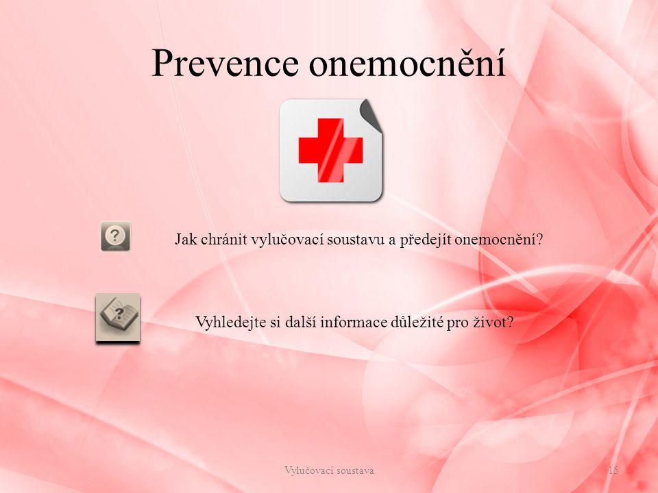 Jak chránit vylučovací soustavu a předejít onemocnění