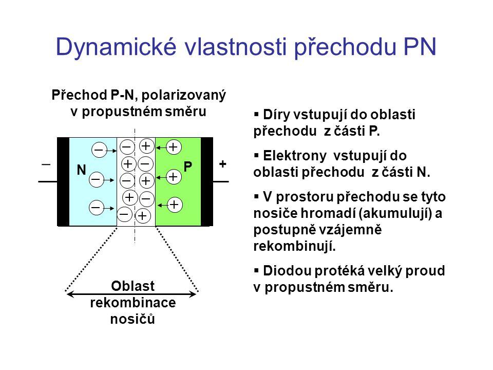 Dynamické vlastnosti přechodu PN