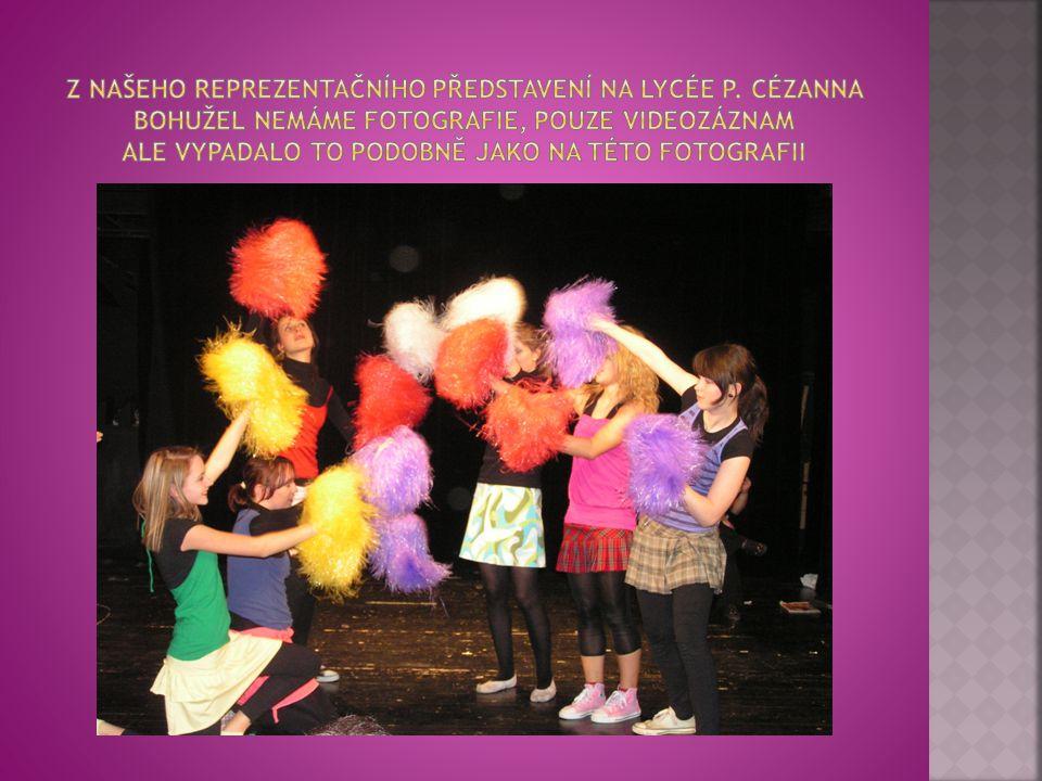Z našeho reprezentačního představení na Lycée P