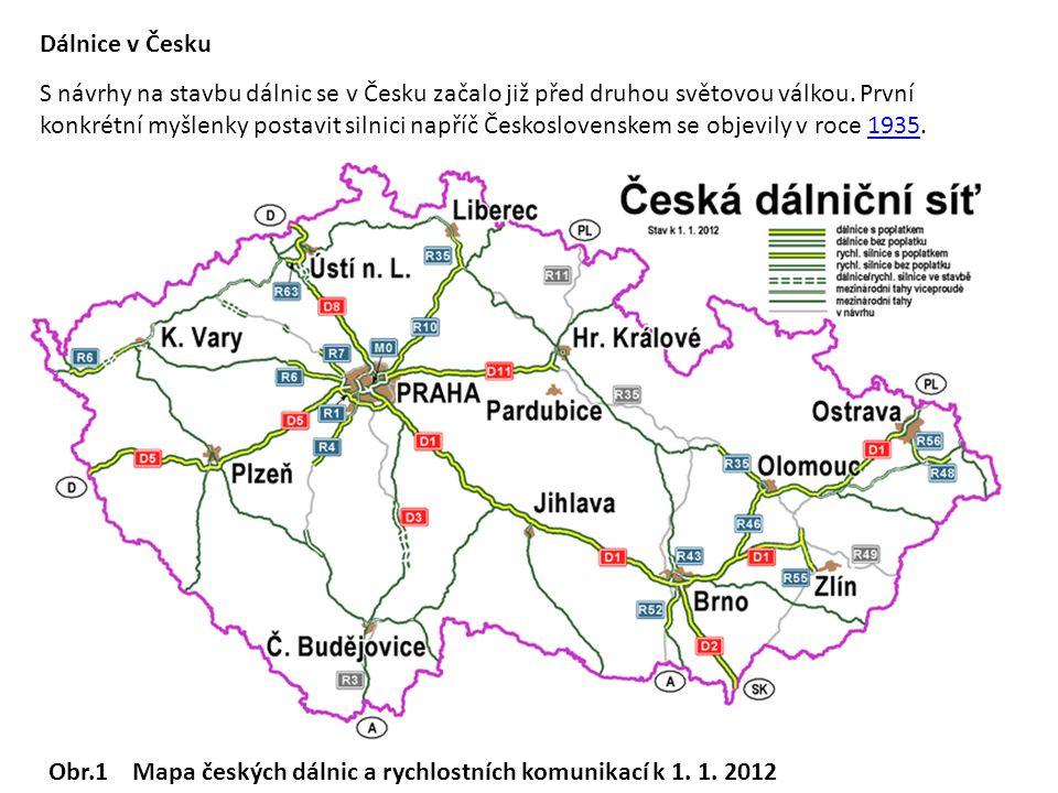 Dálnice v Česku