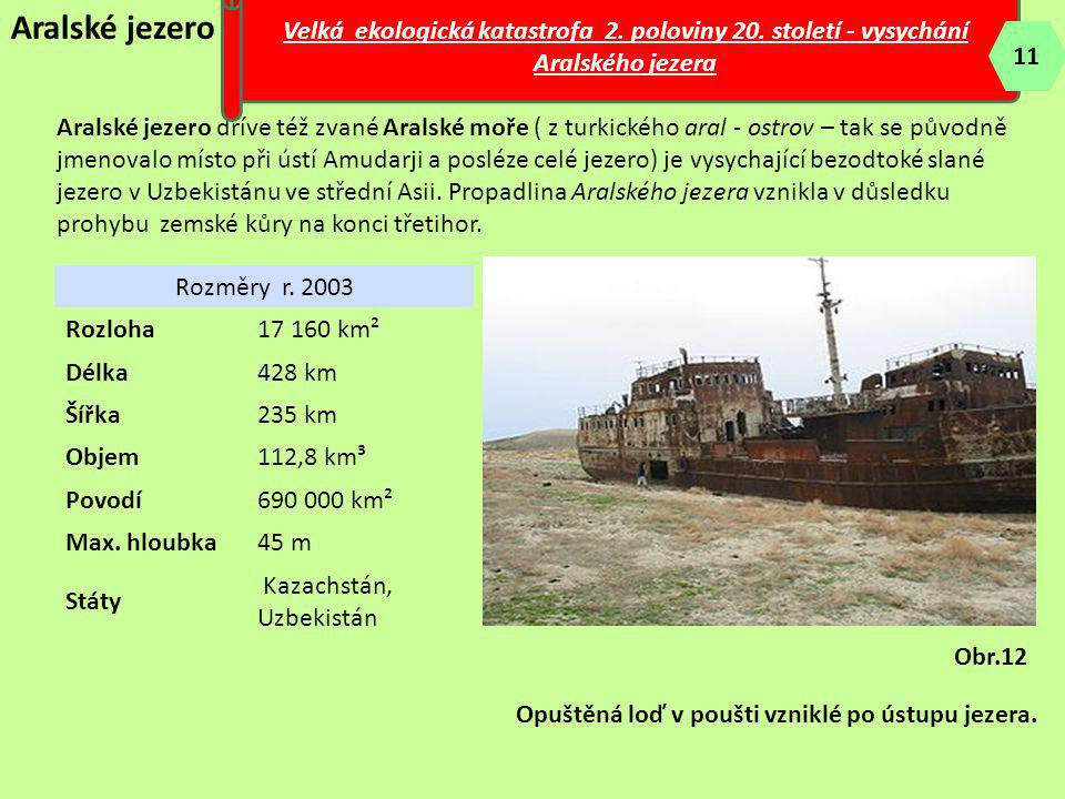 Velká ekologická katastrofa 2. poloviny 20