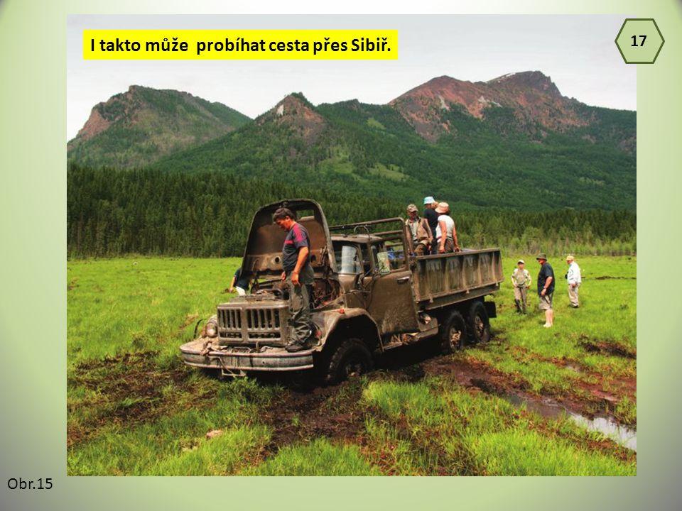 I takto může probíhat cesta přes Sibiř.