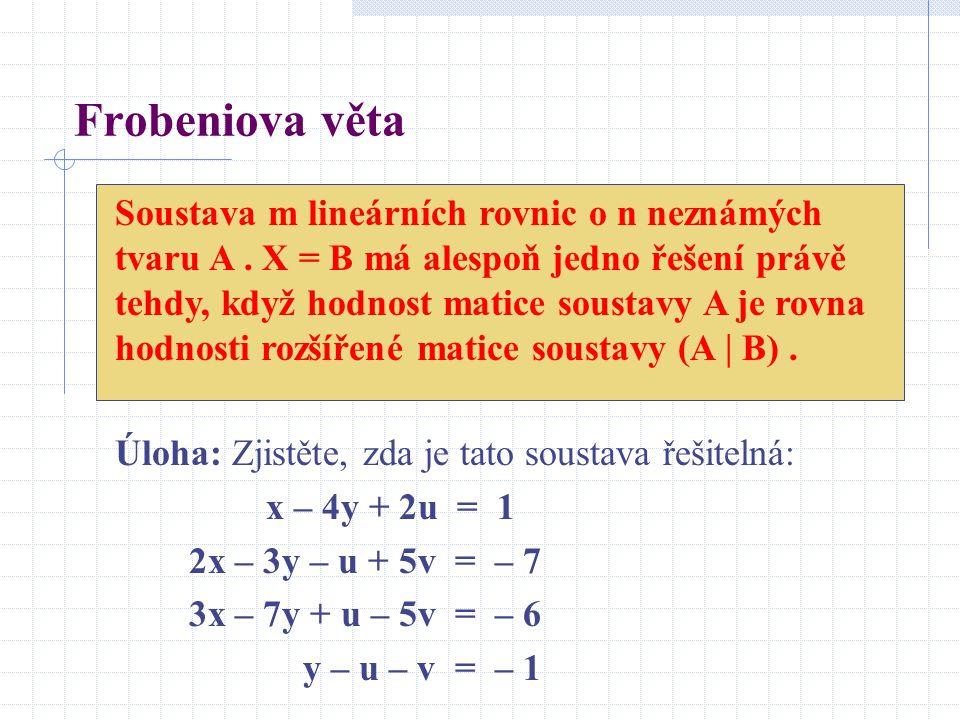 Frobeniova věta