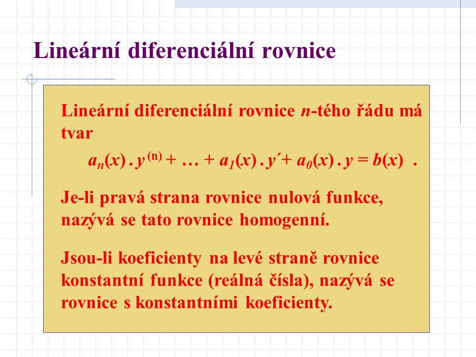 Lineární diferenciální rovnice