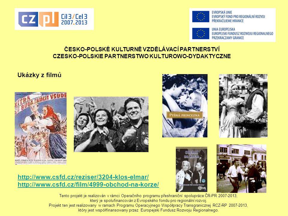 Ukázky z filmů http://www.csfd.cz/reziser/3204-klos-elmar/
