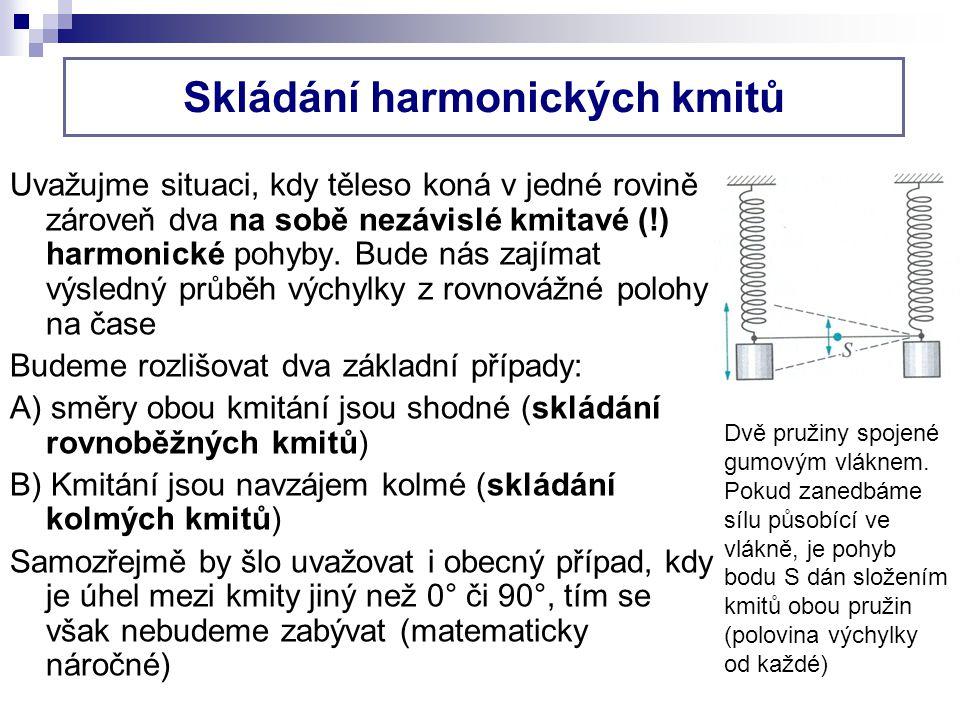 Skládání harmonických kmitů