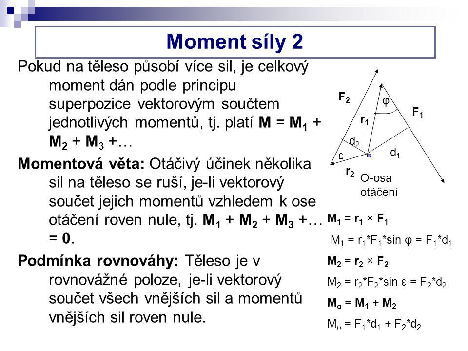 Moment síly 2