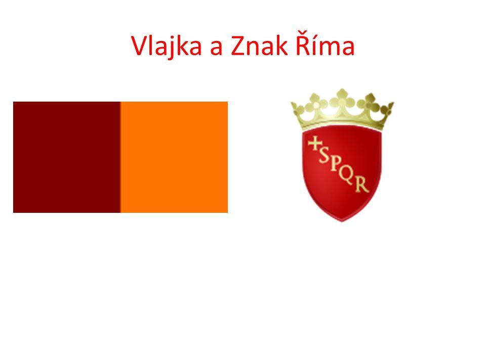 Vlajka a Znak Říma