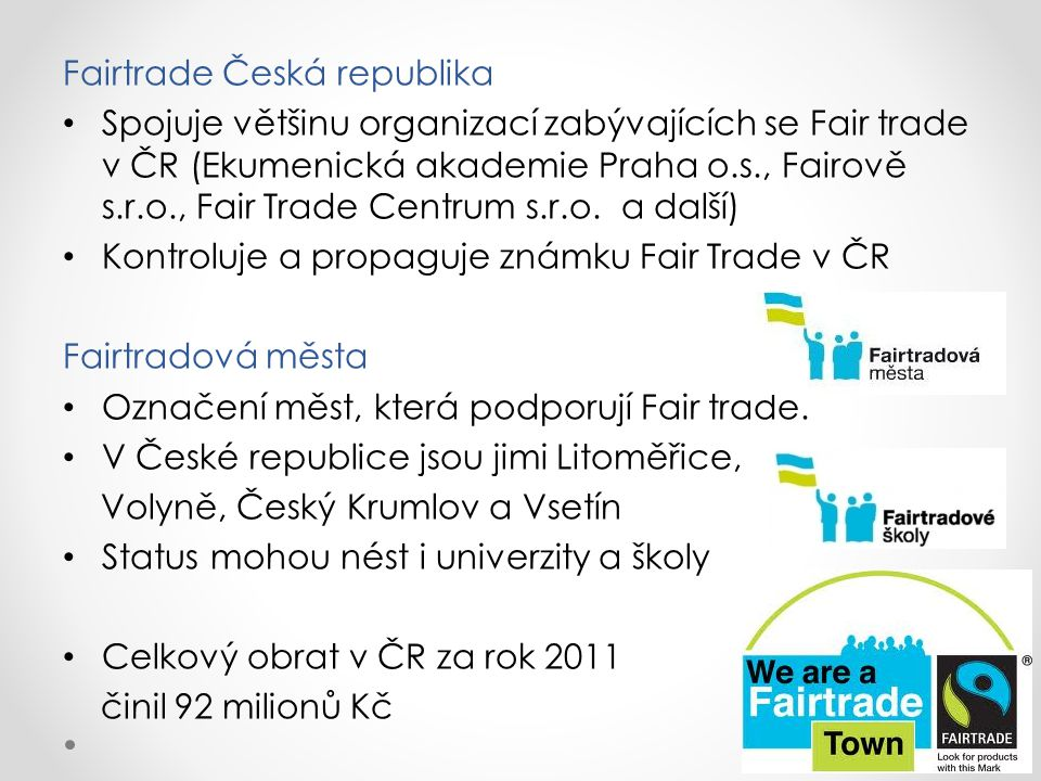 Fairtrade Česká republika