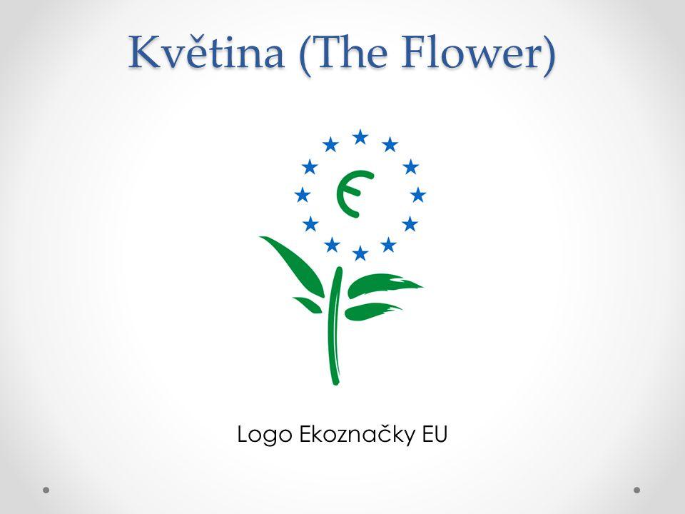 Květina (The Flower) Logo Ekoznačky EU