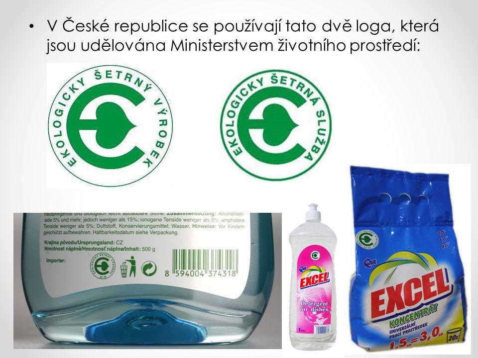 V České republice se používají tato dvě loga, která jsou udělována Ministerstvem životního prostředí: