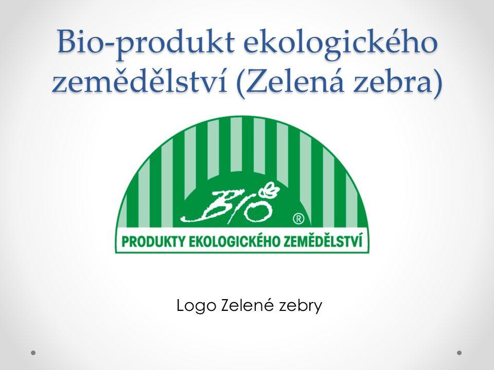 Bio-produkt ekologického zemědělství (Zelená zebra)
