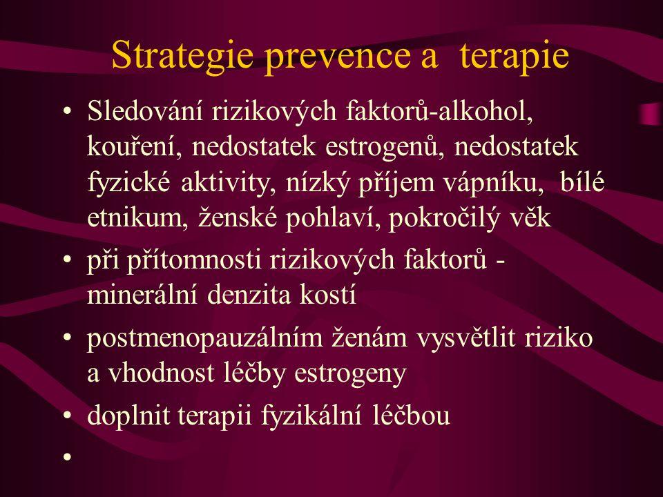 Strategie prevence a terapie
