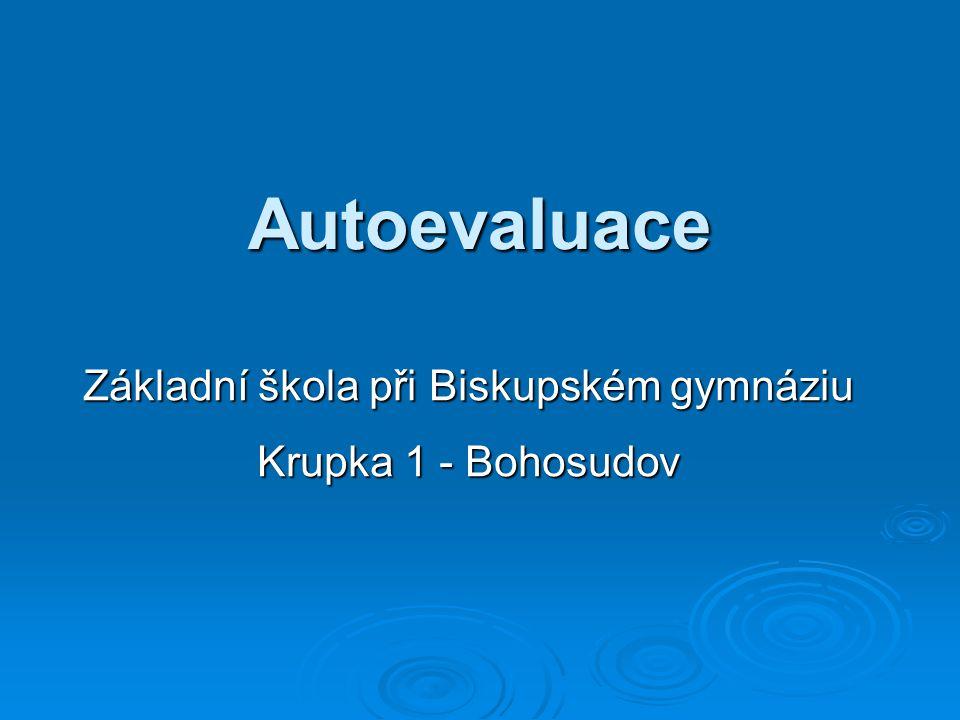 Základní škola při Biskupském gymnáziu Krupka 1 - Bohosudov