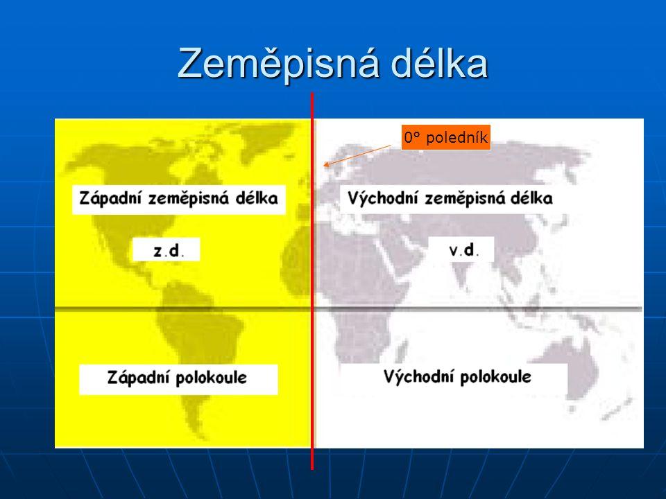 Zeměpisná délka 0° poledník
