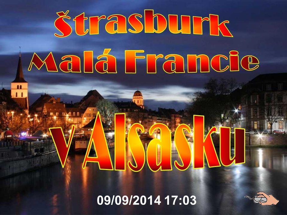 Štrasburk Malá Francie v Alsasku