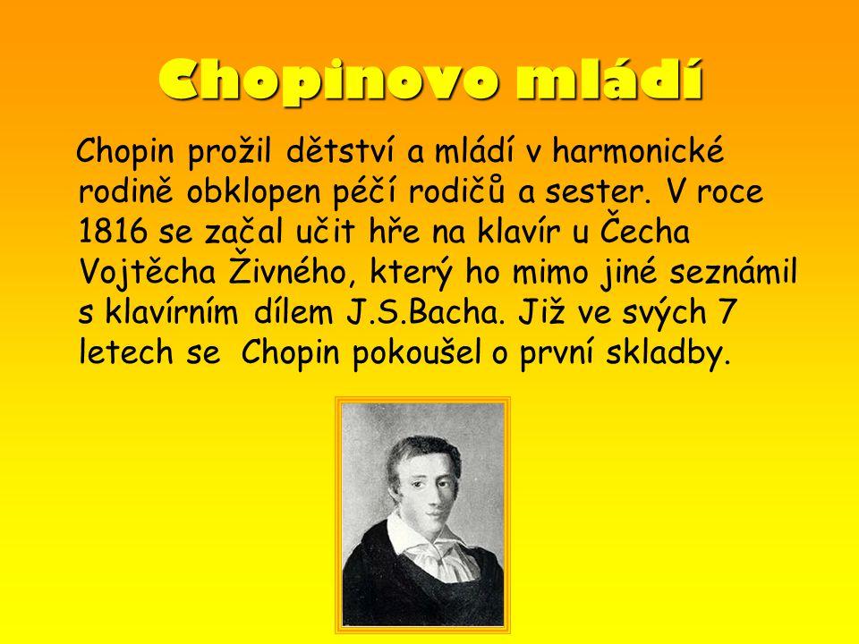 Chopinovo mládí