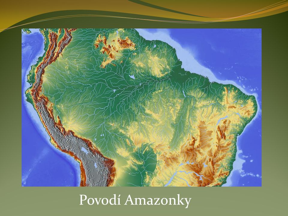 Povodí Amazonky
