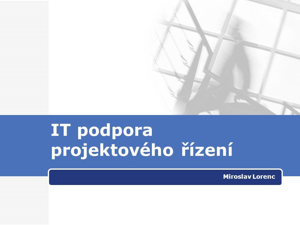 IT podpora projektového řízení