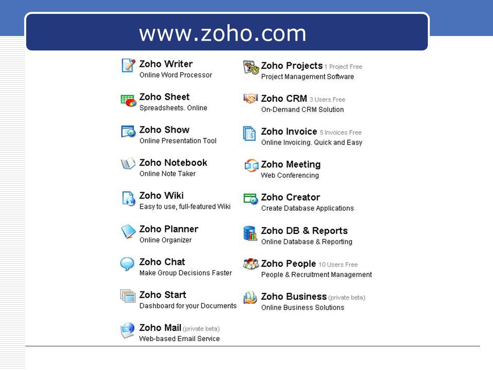 www.zoho.com