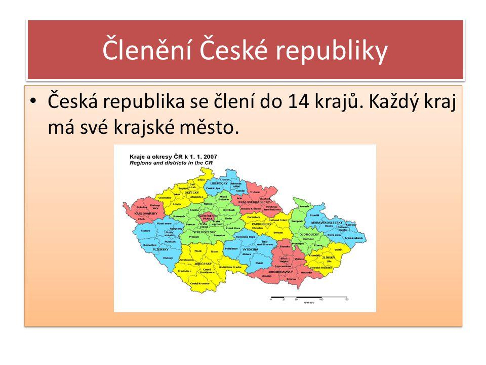 Členění České republiky