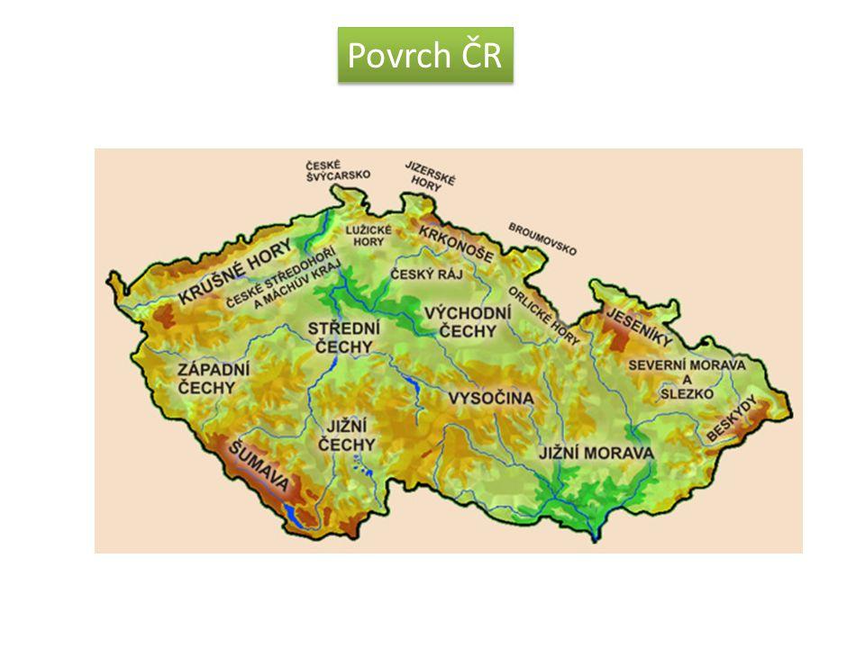 Povrch ČR