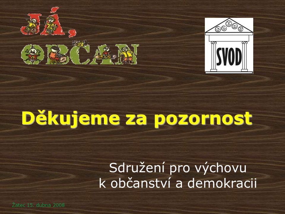 Sdružení pro výchovu k občanství a demokracii