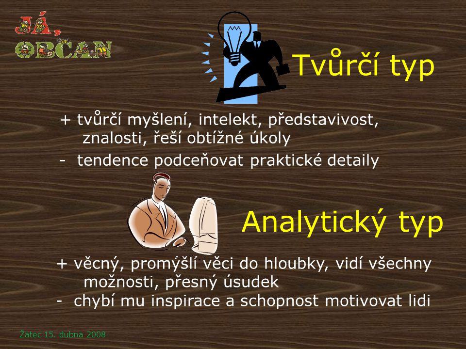 Tvůrčí typ Analytický typ