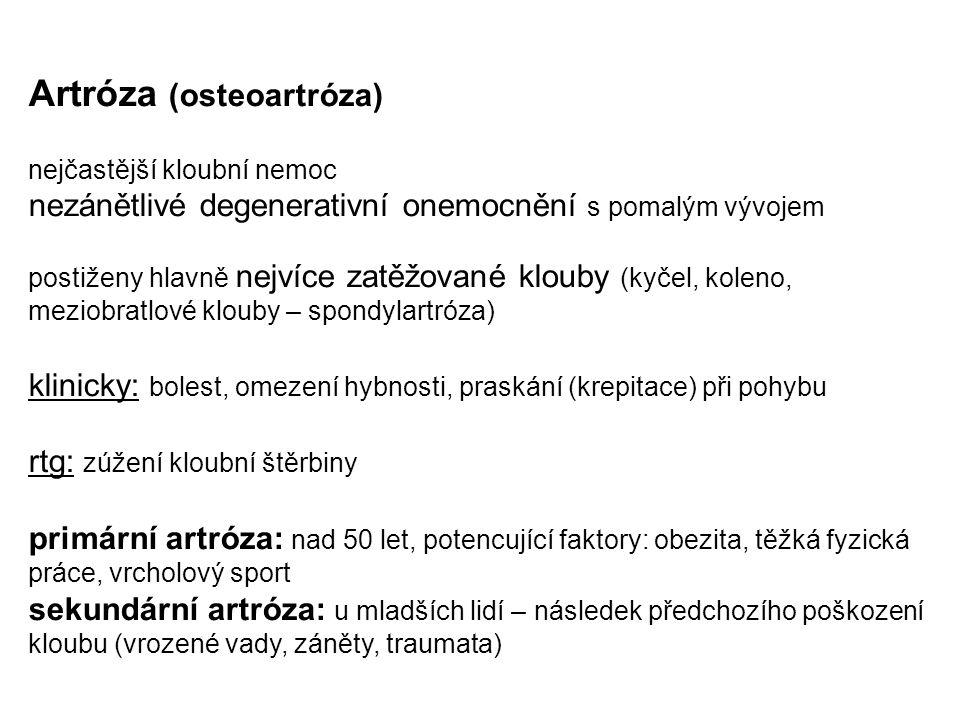 Artróza (osteoartróza)