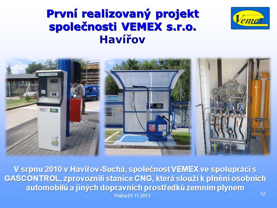 První realizovaný projekt společnosti VEMEX s.r.o. Havířov