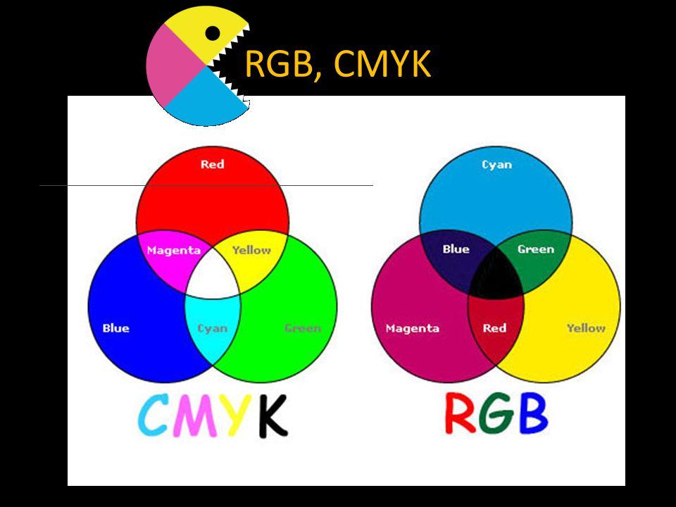 RGB, CMYK