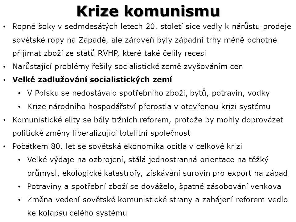 Krize komunismu