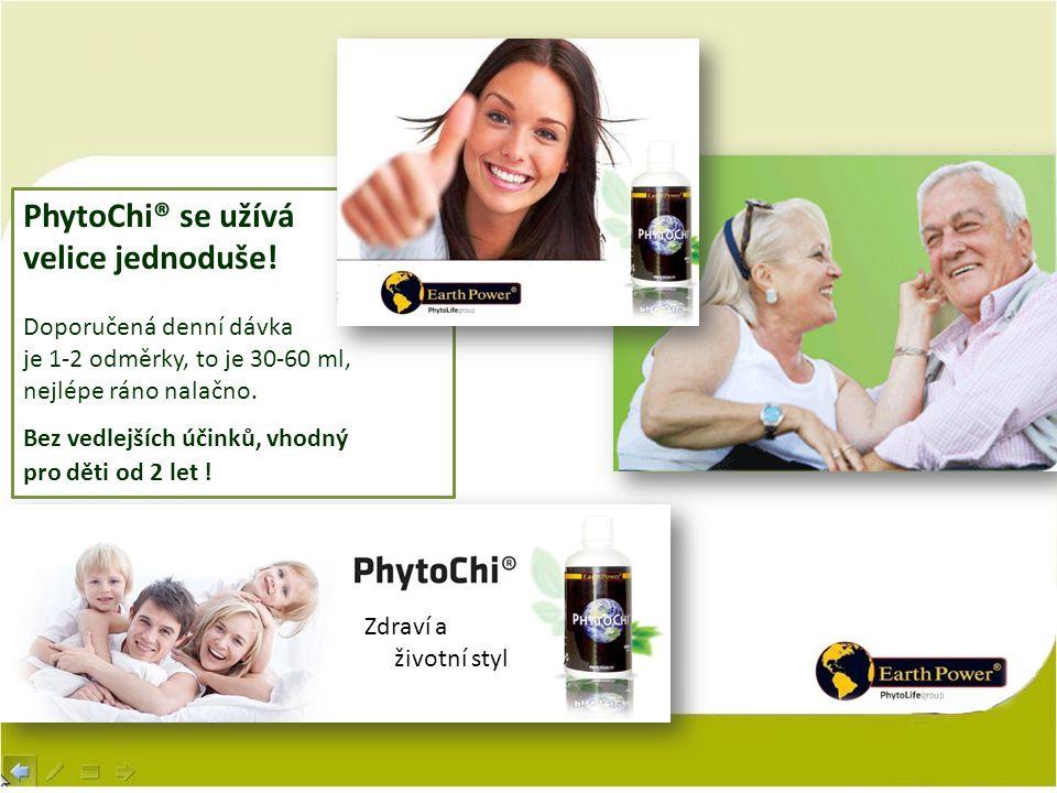 PhytoChi® se užívá velice jednoduše! Doporučená denní dávka