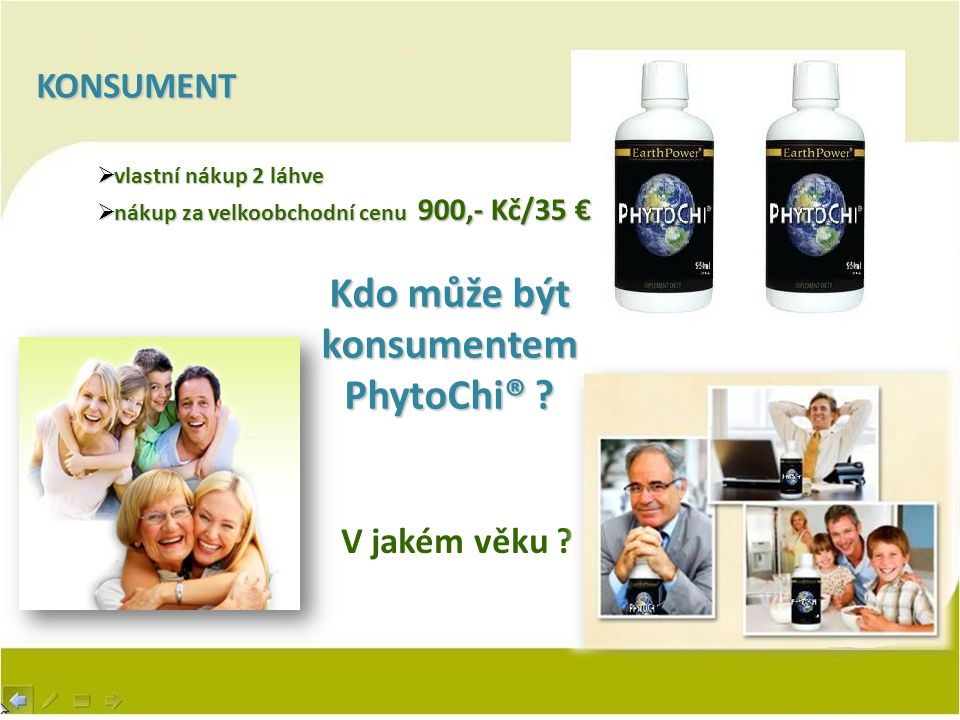 Kdo může být konsumentem PhytoChi®