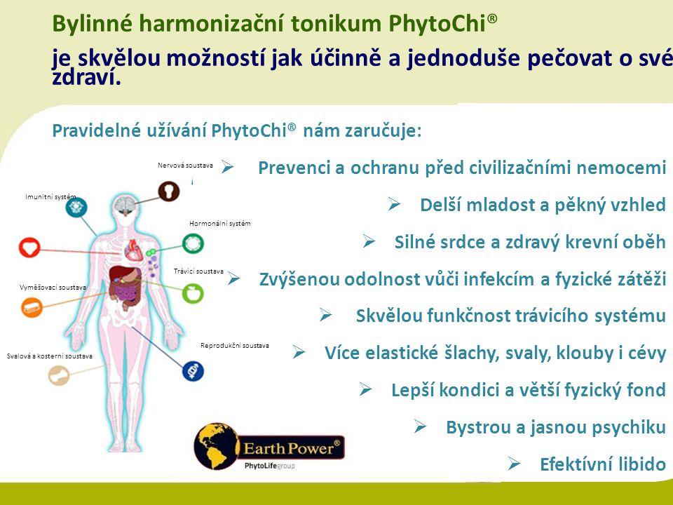 Bylinné harmonizační tonikum PhytoChi®