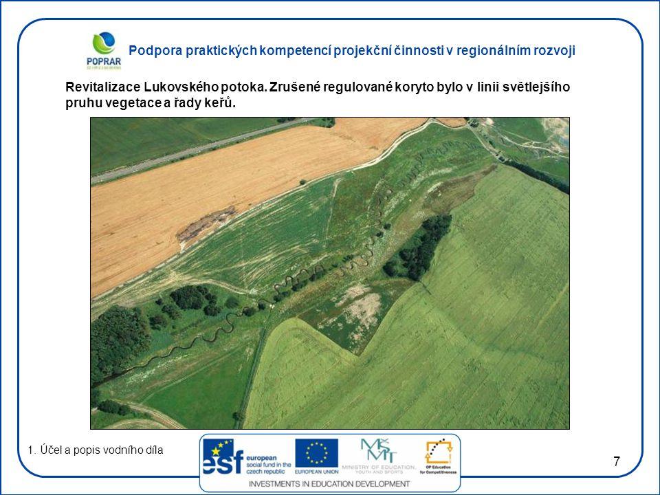 Revitalizace Lukovského potoka