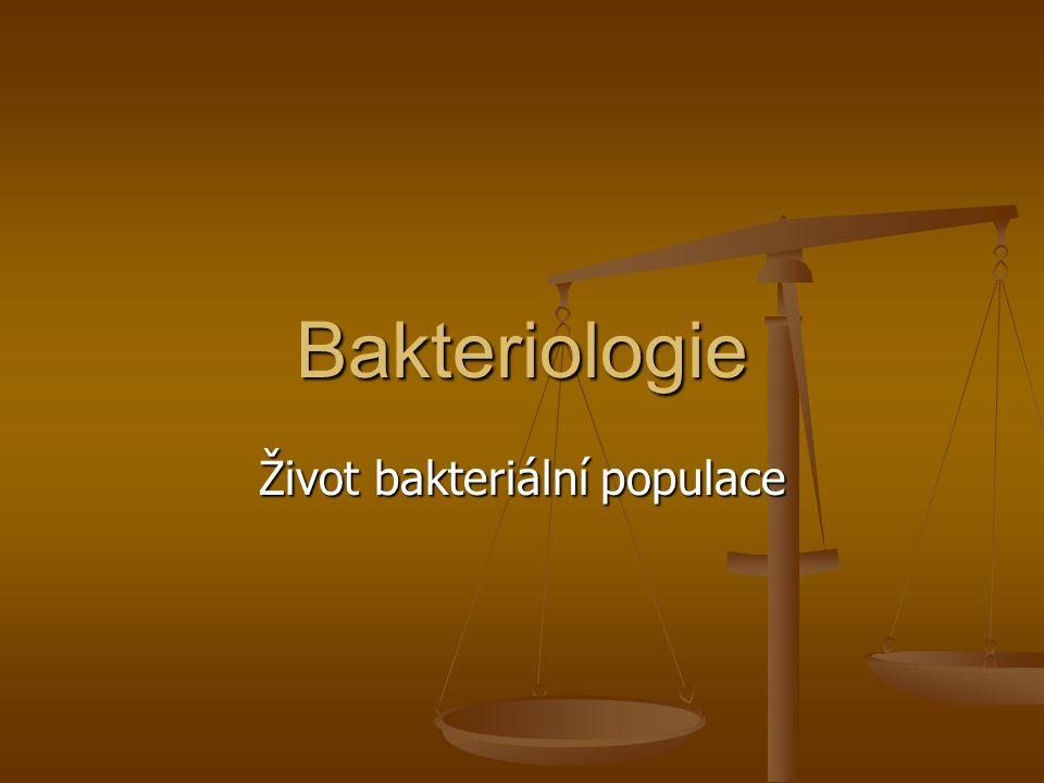 Život bakteriální populace