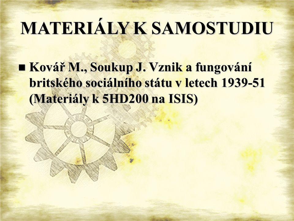 MATERIÁLY K SAMOSTUDIU