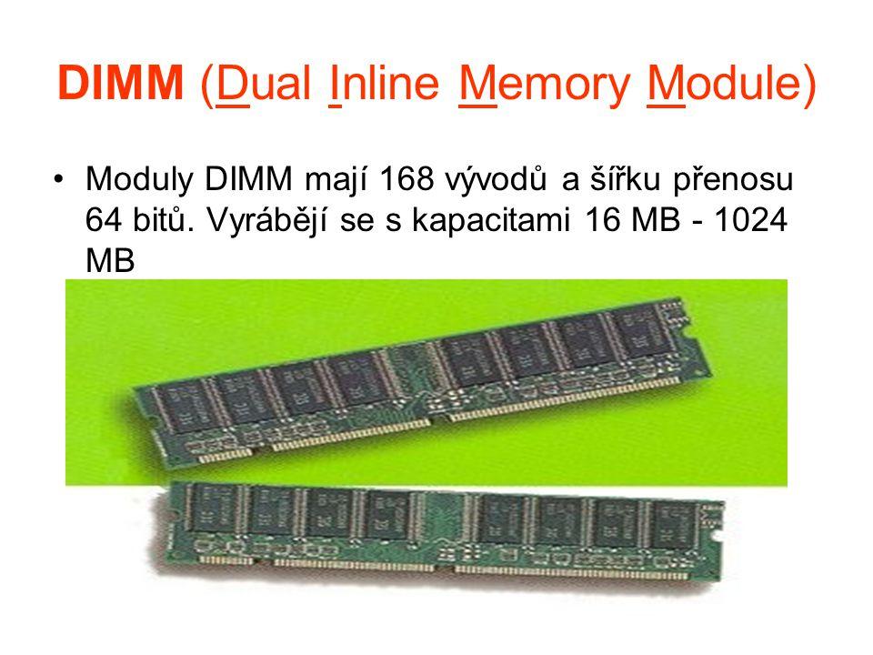 DIMM (Dual Inline Memory Module)
