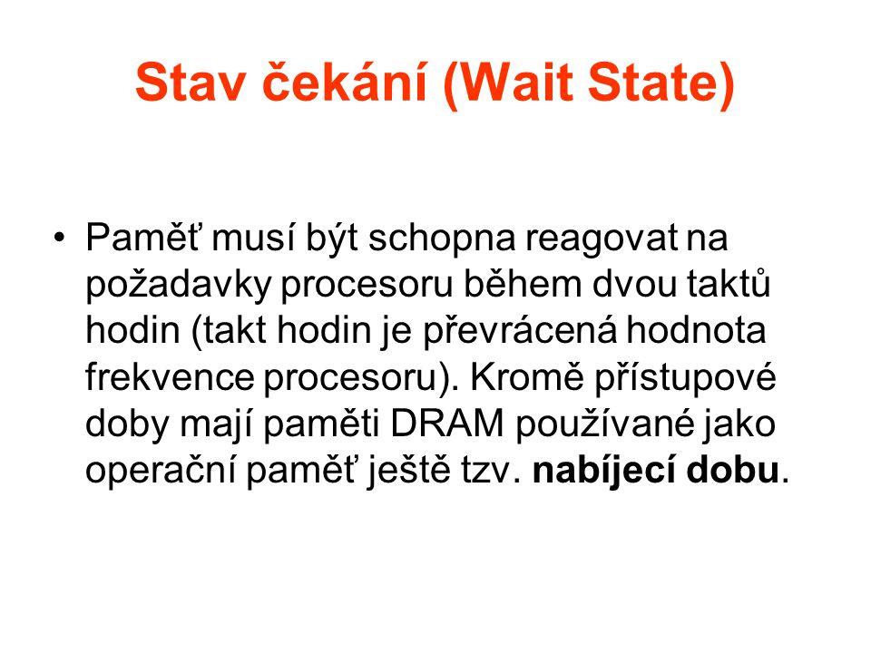 Stav čekání (Wait State)