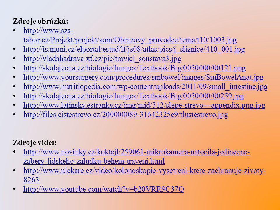 Zdroje obrázků: http://www.szs-tabor.cz/Projekt/projekt/som/Obrazovy_pruvodce/tema/t10/1003.jpg.