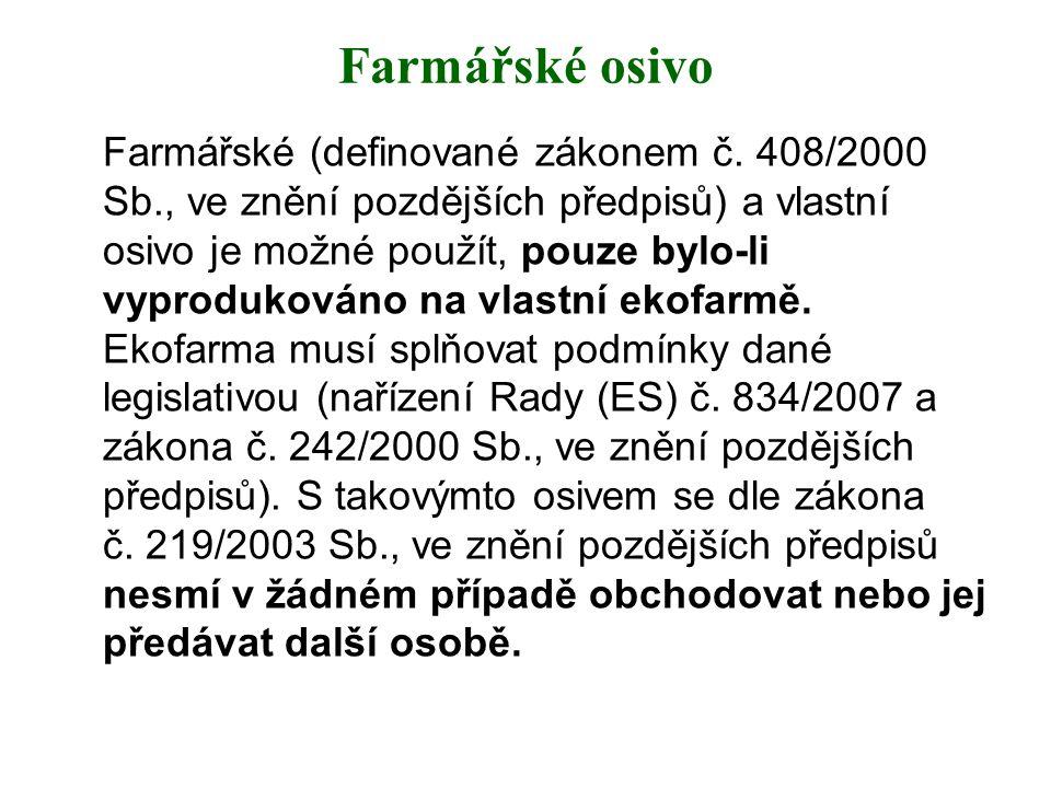 Farmářské osivo
