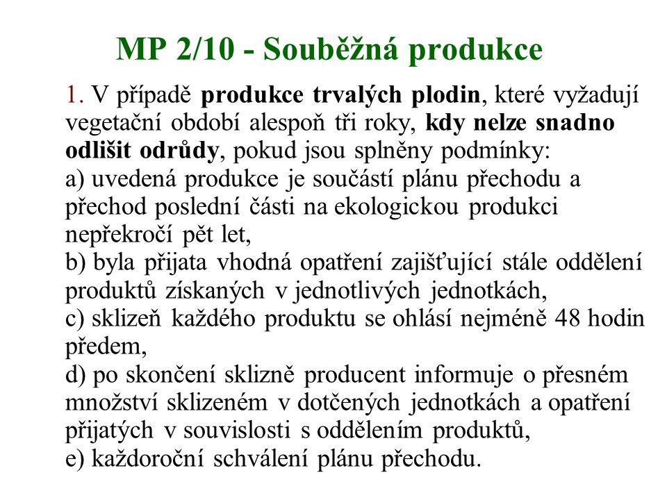 MP 2/10 - Souběžná produkce