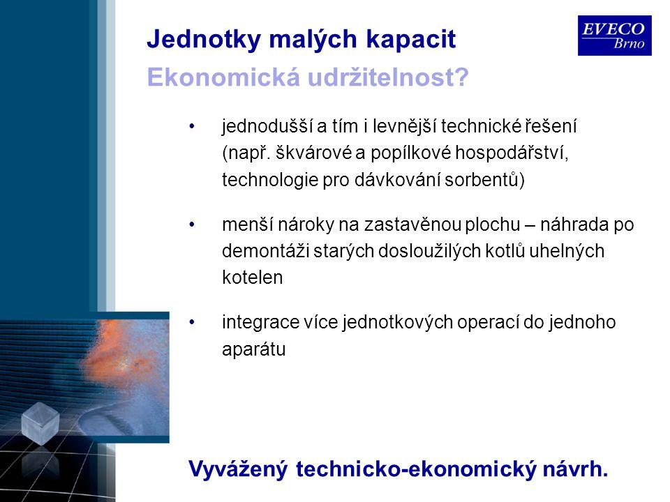 Vyvážený technicko-ekonomický návrh.