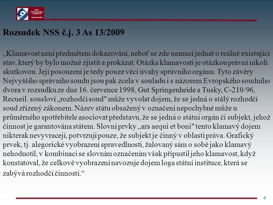 Rozsudek NSS č.j. 3 As 13/2009