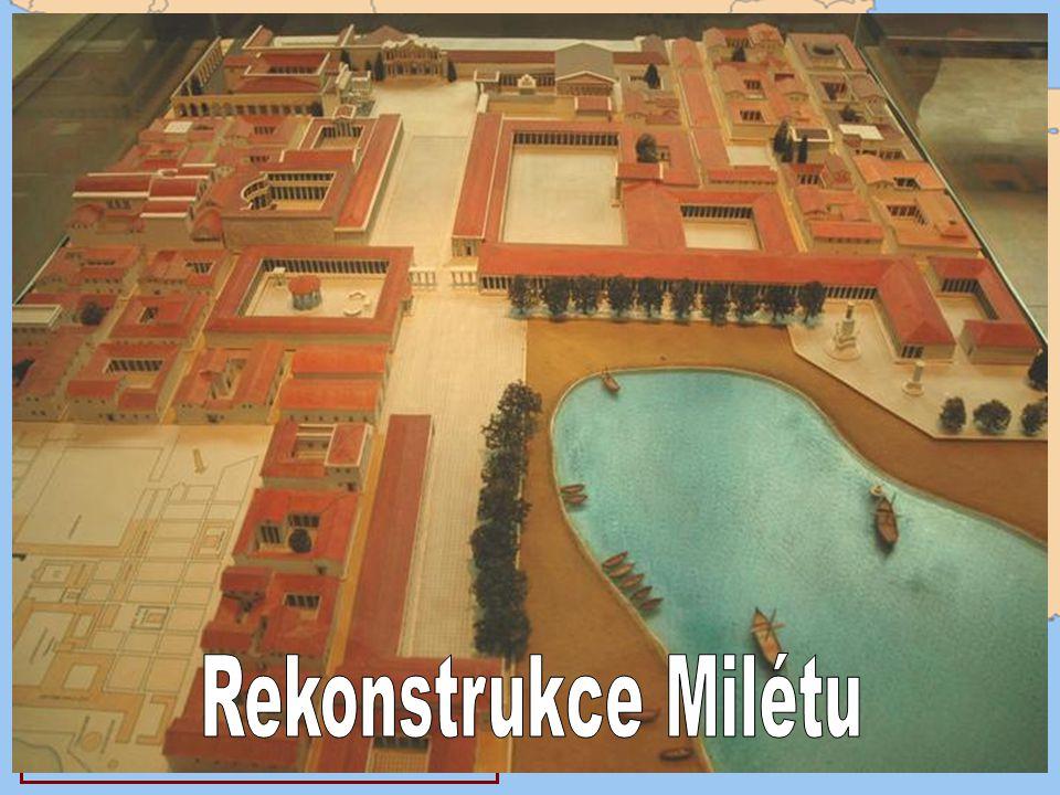 Rekonstrukce Milétu Vzdělání a život Milétos