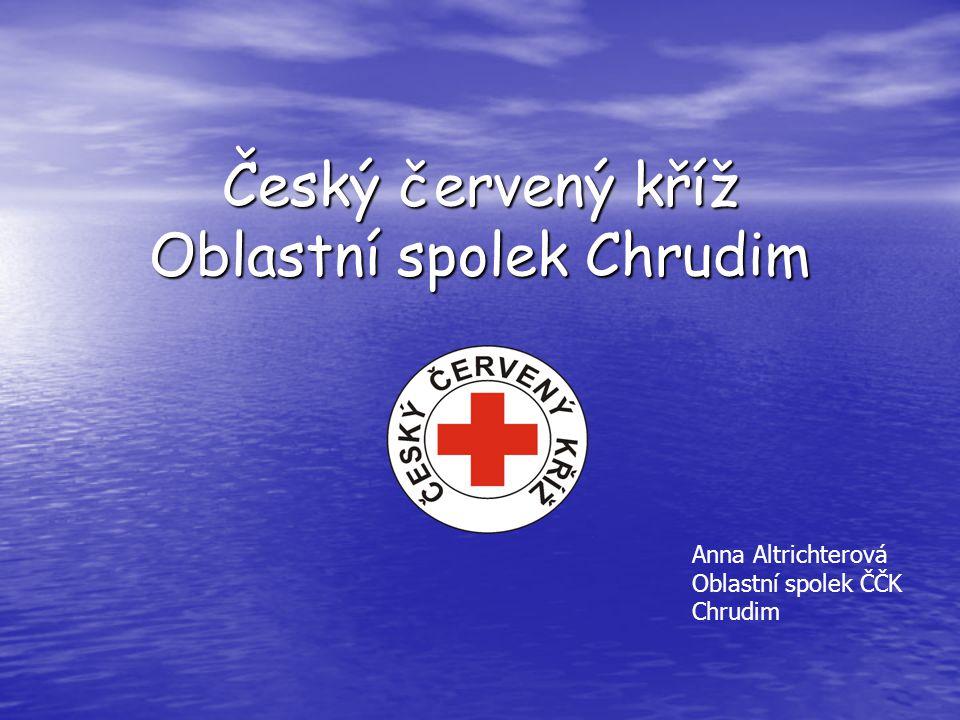 Český červený kříž Oblastní spolek Chrudim