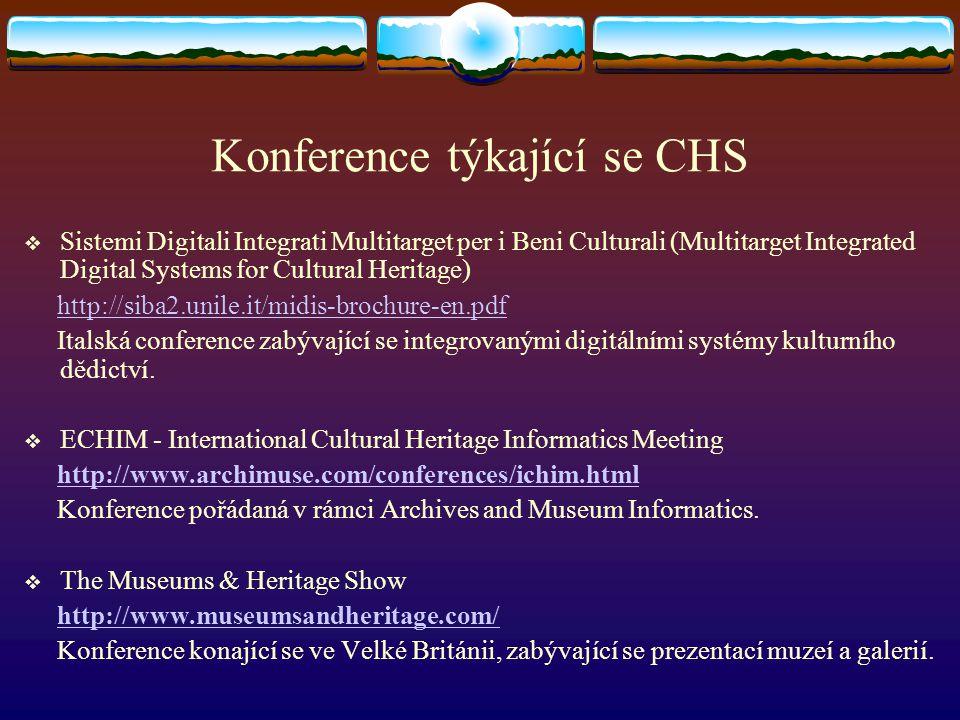 Konference týkající se CHS