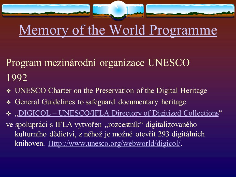 Memory of the World Programme