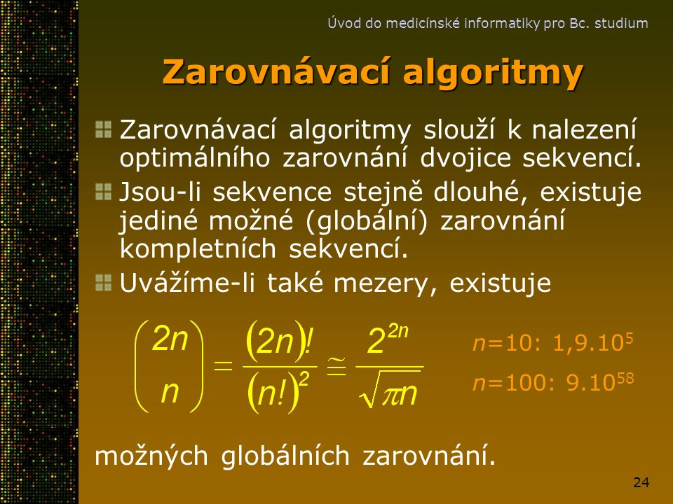 Zarovnávací algoritmy